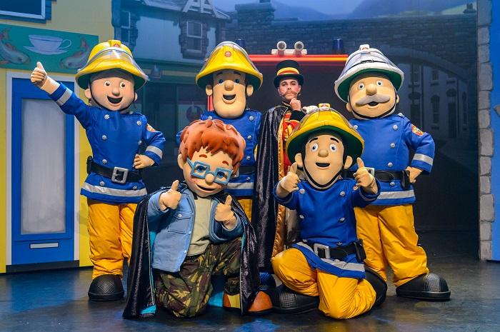 musical brandweerman sam redt het circus website4mama nl