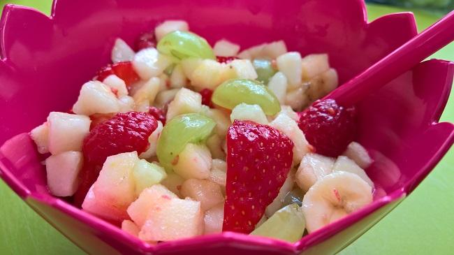 Recept voor een heerlijke fruitsalade - Idee deco meid ...