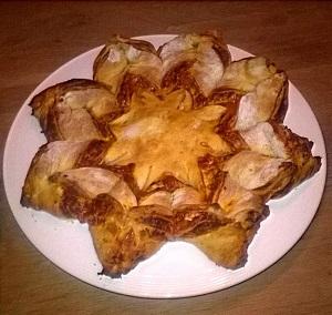 Een feestelijk broodje maken voor kerst - Een ster in mijn cabine ...