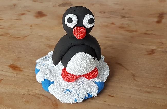 Creatief Met Klei.Een Grappige Pinguin Knutselen Van Klei Website4mama Nl