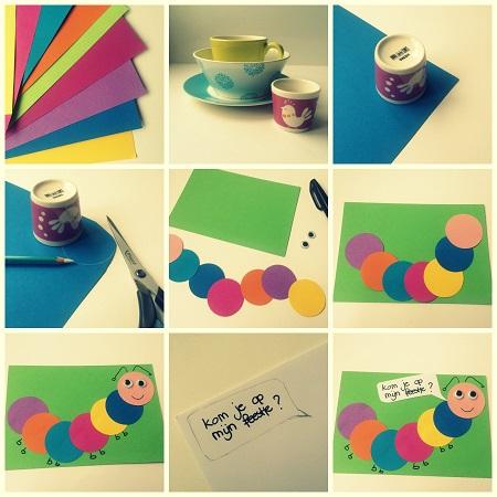 Voorkeur Zelf uitnodigingen maken voor een kinderfeestje | Website4Mama.nl #GH25