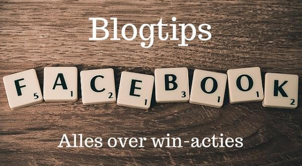 Blogtips: alles over winacties op Facebook
