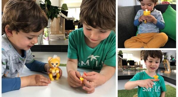 WowWee Fingerlings Lion King Sam is veel te leuk!