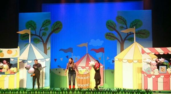 Peppa Pig in het theater