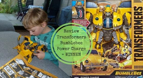 Review: Transformers Bumblebee Power Charge + WIN!