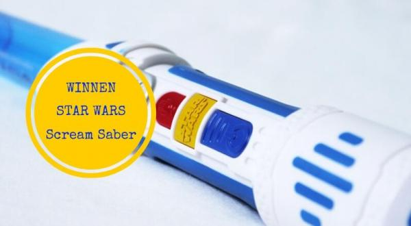 Review + win: De Star Wars Scream Saber van Hasbro